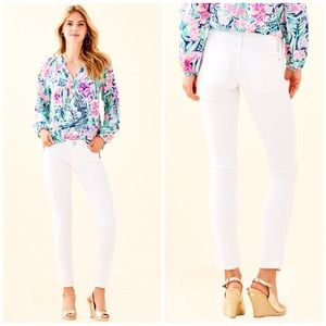 Lilly Pulitzer | Stretchy Sateen Worth Skinny Jean